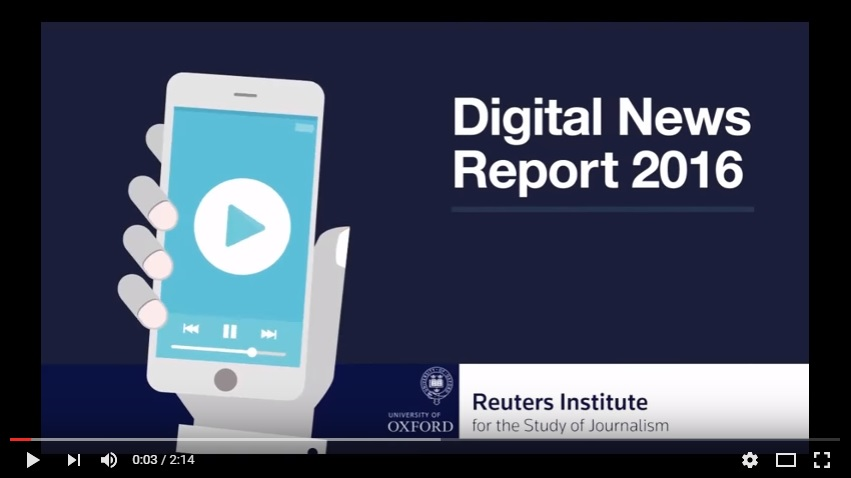 Digital report youtube film image